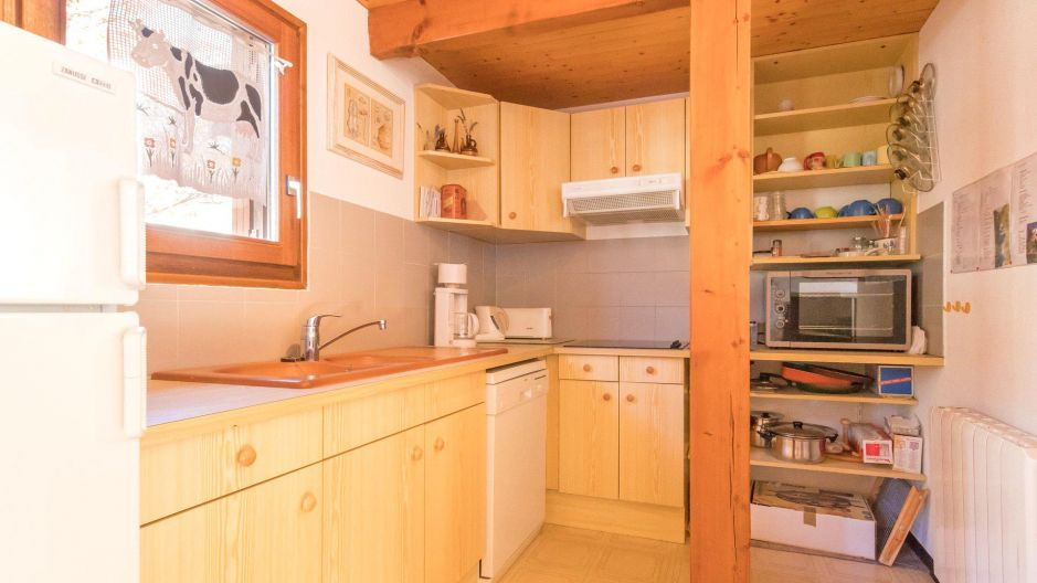 Keuken serre persoons kajuit bungalow luxe strandpark